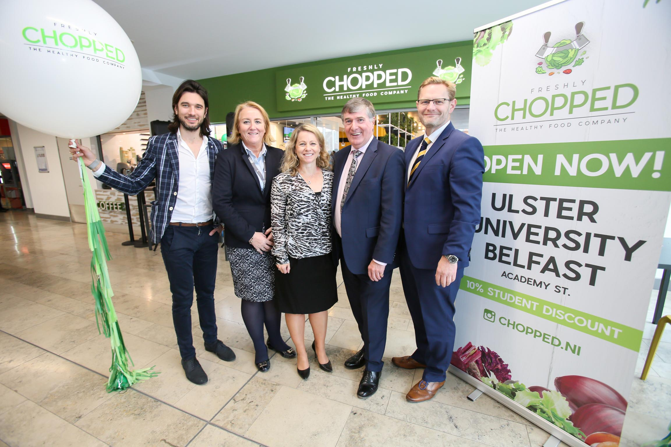 Freshly Chopped officially launches at Ulster University's Belfast Campus